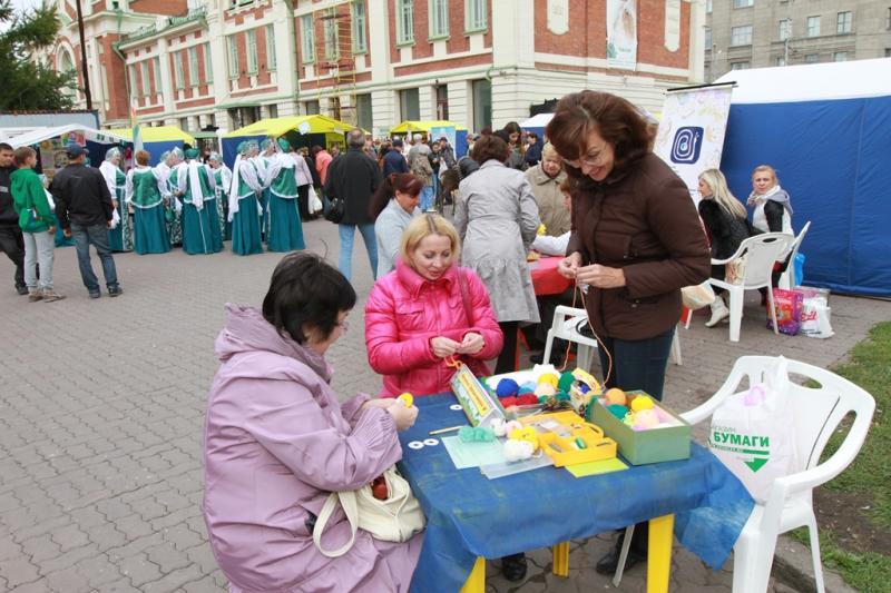День соседей в Первомайском сквере