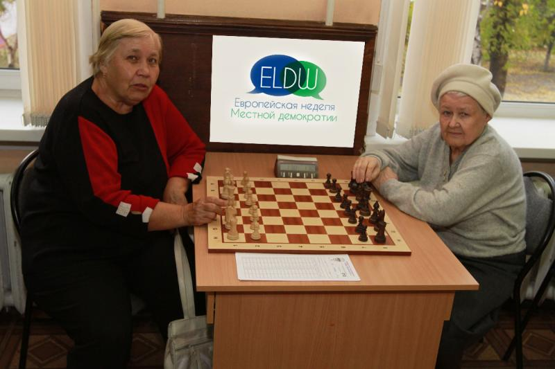 Первенство Новосибирска по шахматам среди ветеранов