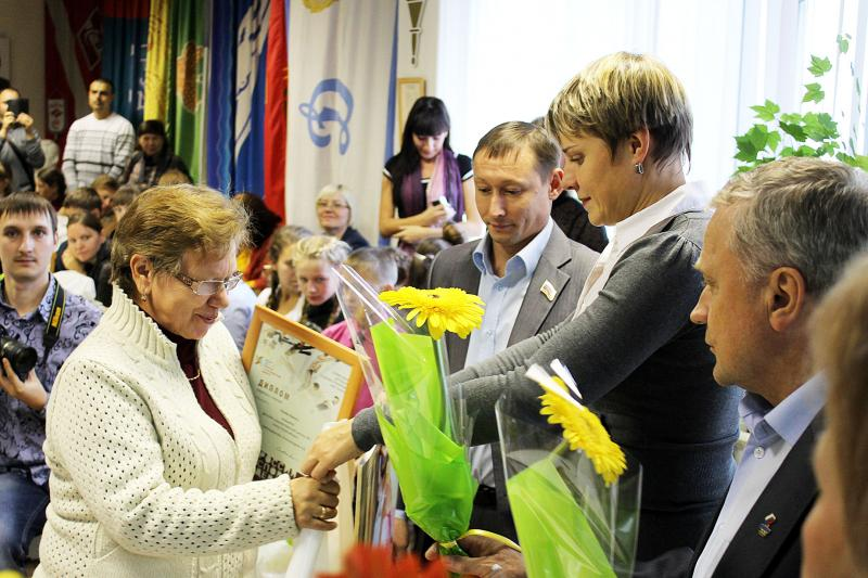Награждение лауреатов выставки Россия - спортивная держава