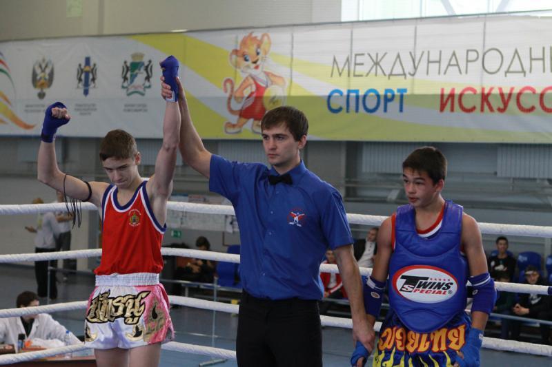 Кубок г.Новосибирска по тайскому боксу