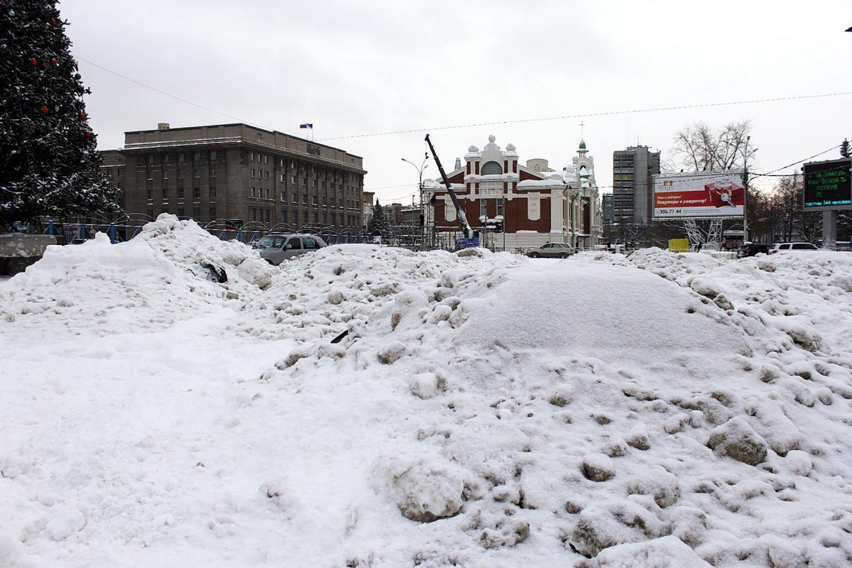 Каток на пл. Ленина