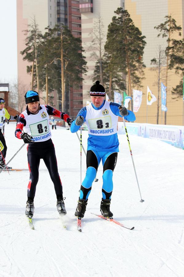 Закрытие зимнего спортивного сезона - эстафета поколений