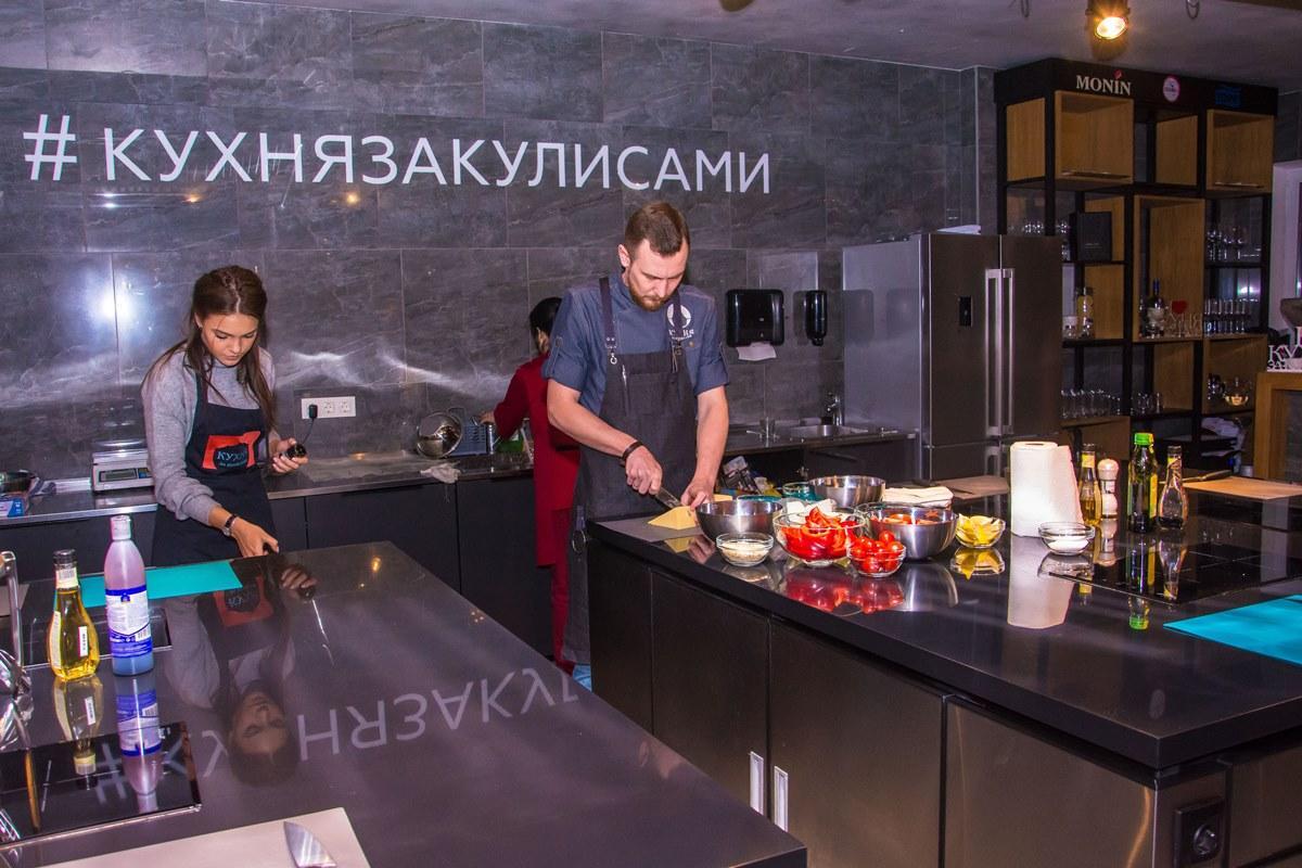 Спортивный дуэт - 2017. На кухне.
