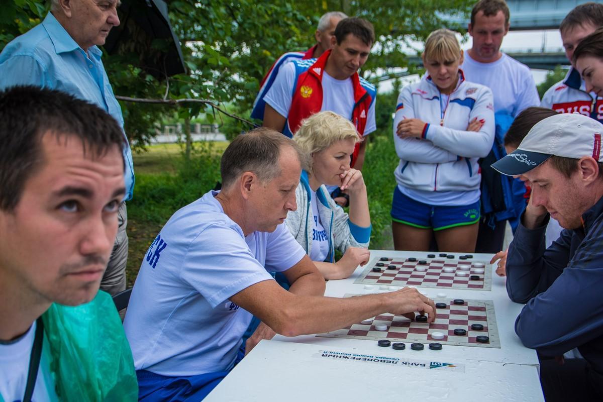 День физкультурника на Михайловской набережной