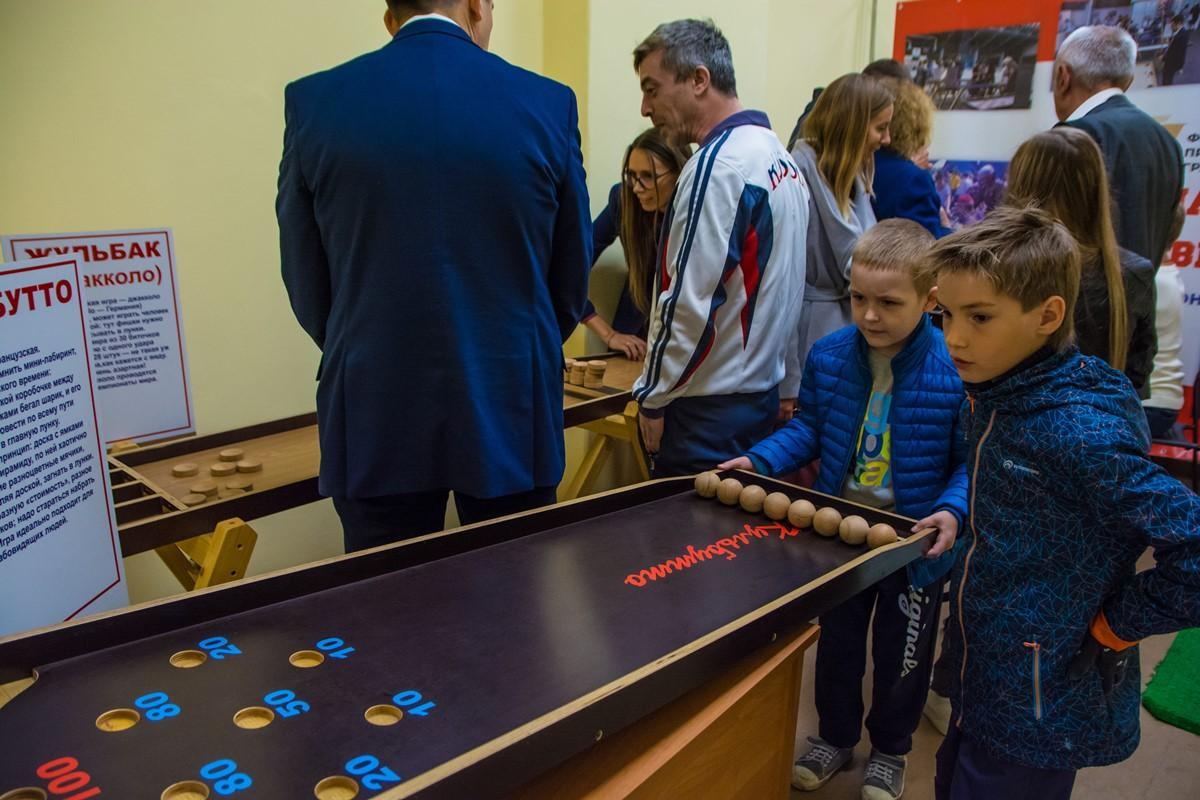Открытие клуба адаптивных спортивных игр