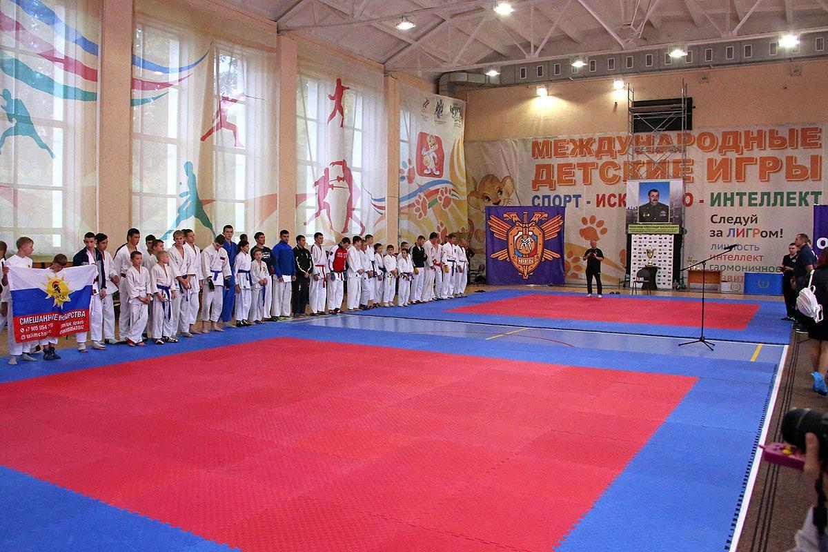 Чемпионат по рукопашному бою памяти Александра Толкунова