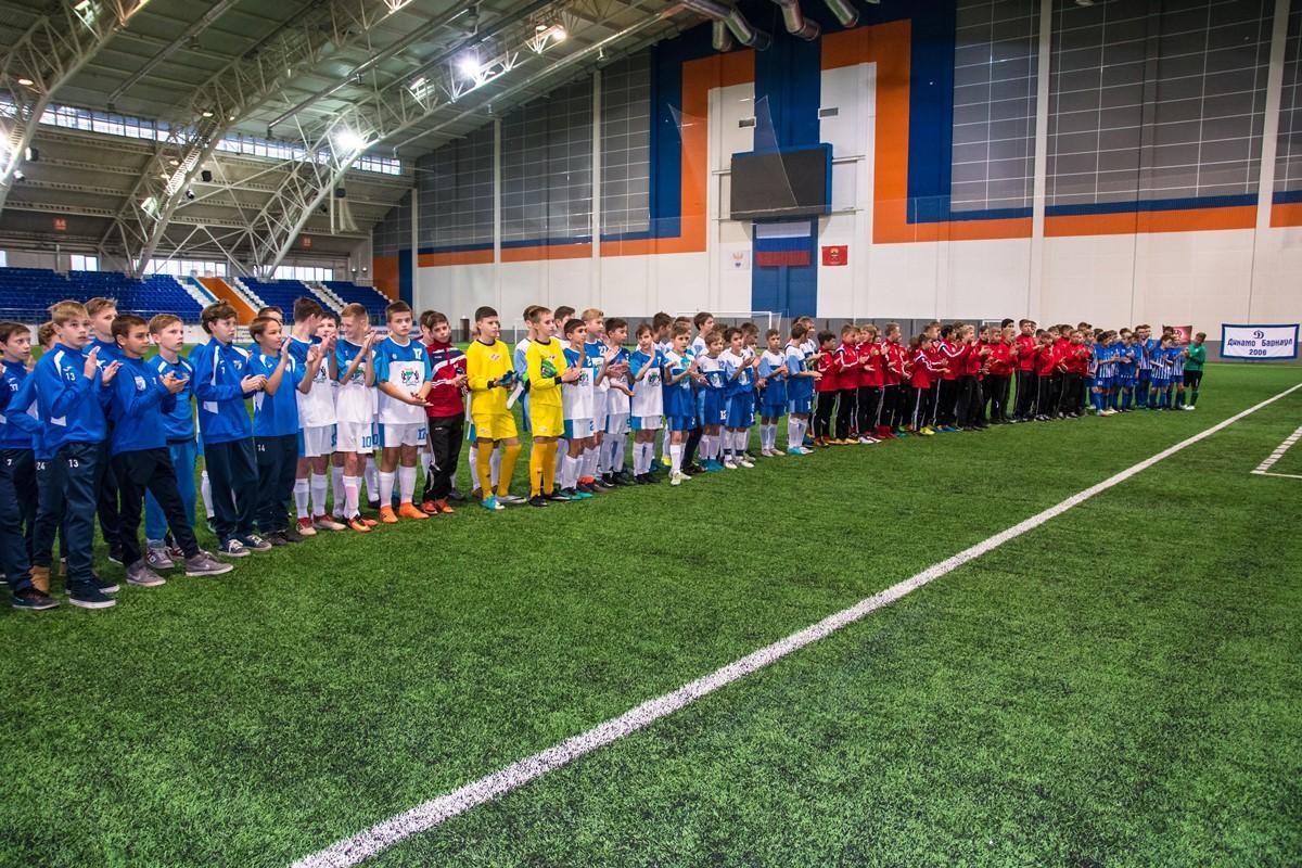 Открытый городской турнир по футболу среди игроков 2006 г.р.