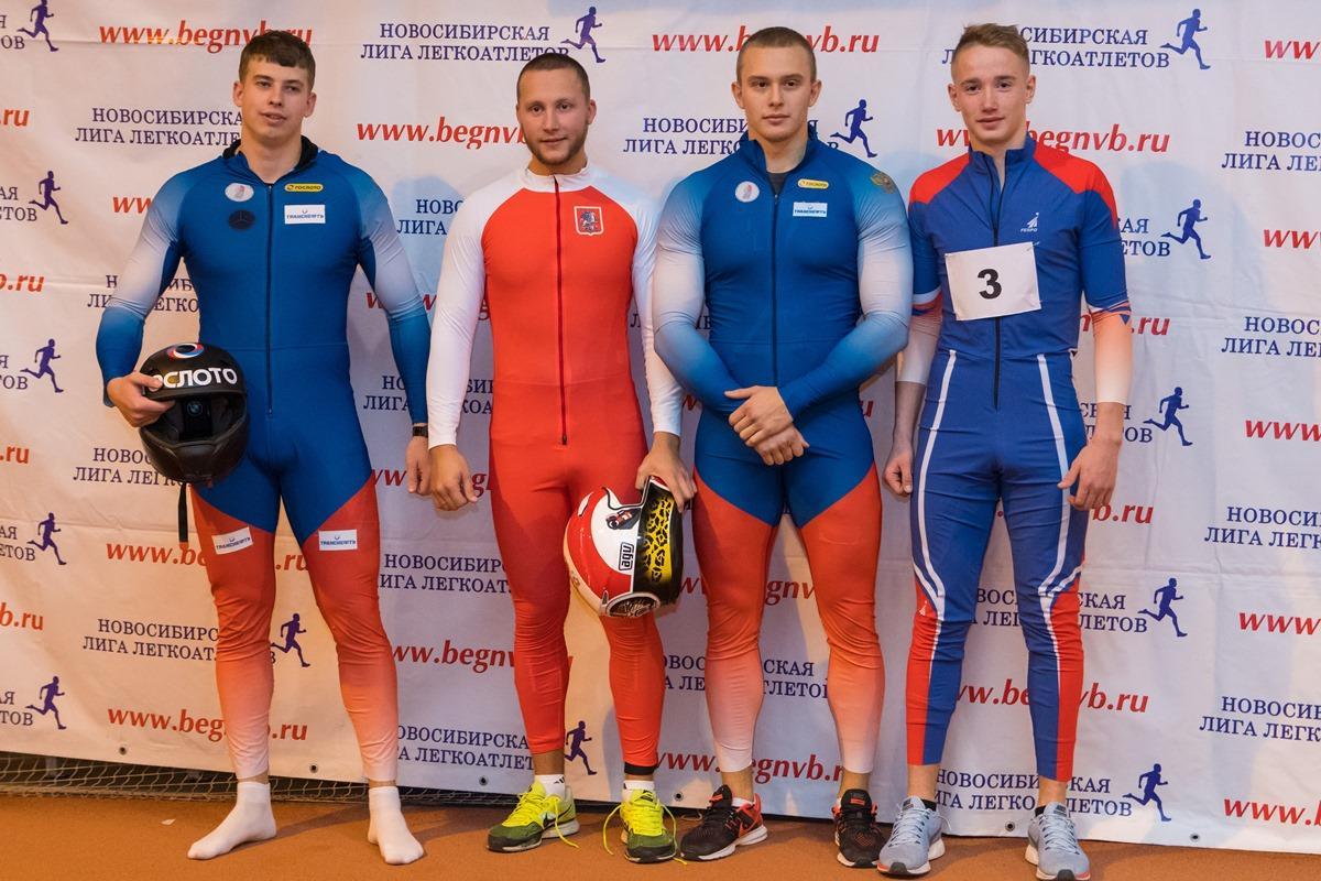 Новогодние соревнования по легкой атлетике