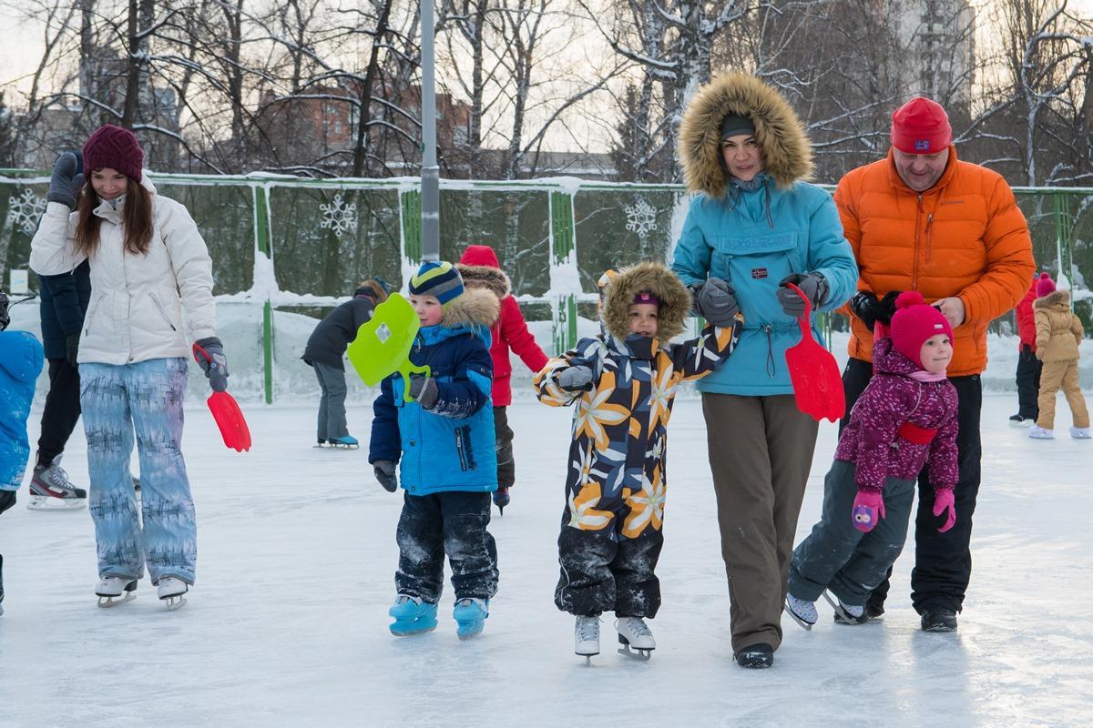 Все на лёд – в Новый год!