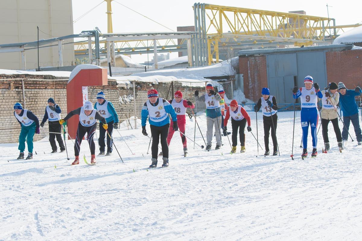 «Через спорт – к активному долголетию»: лыжные гонки