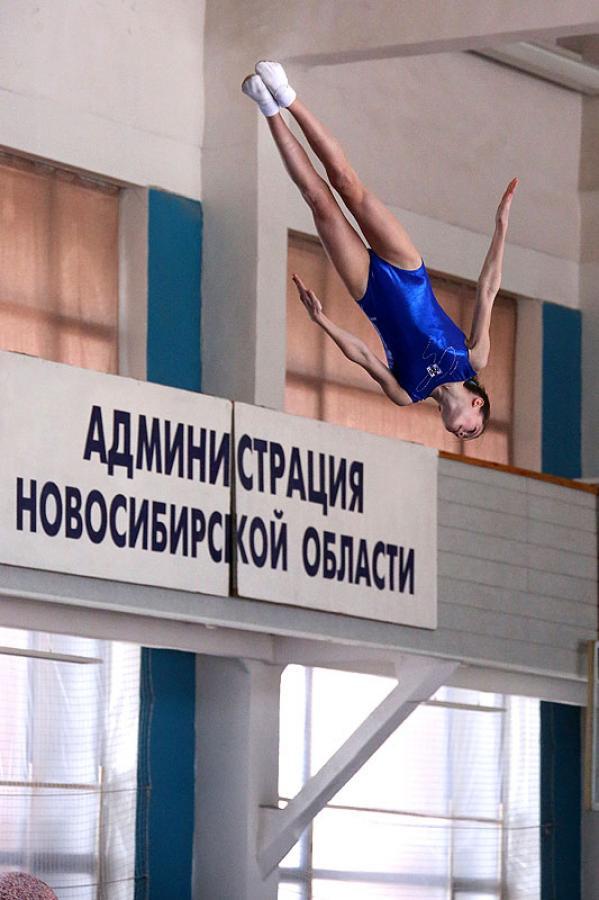 Кубок Сибири по прыжкам на батуте