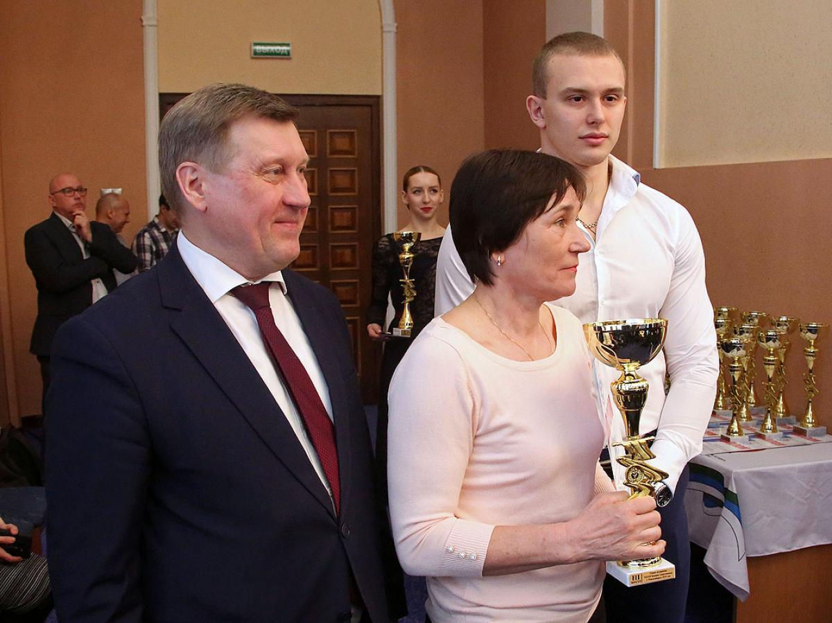 XXVII Зимняя спартакиада города Новосибирска: награждение