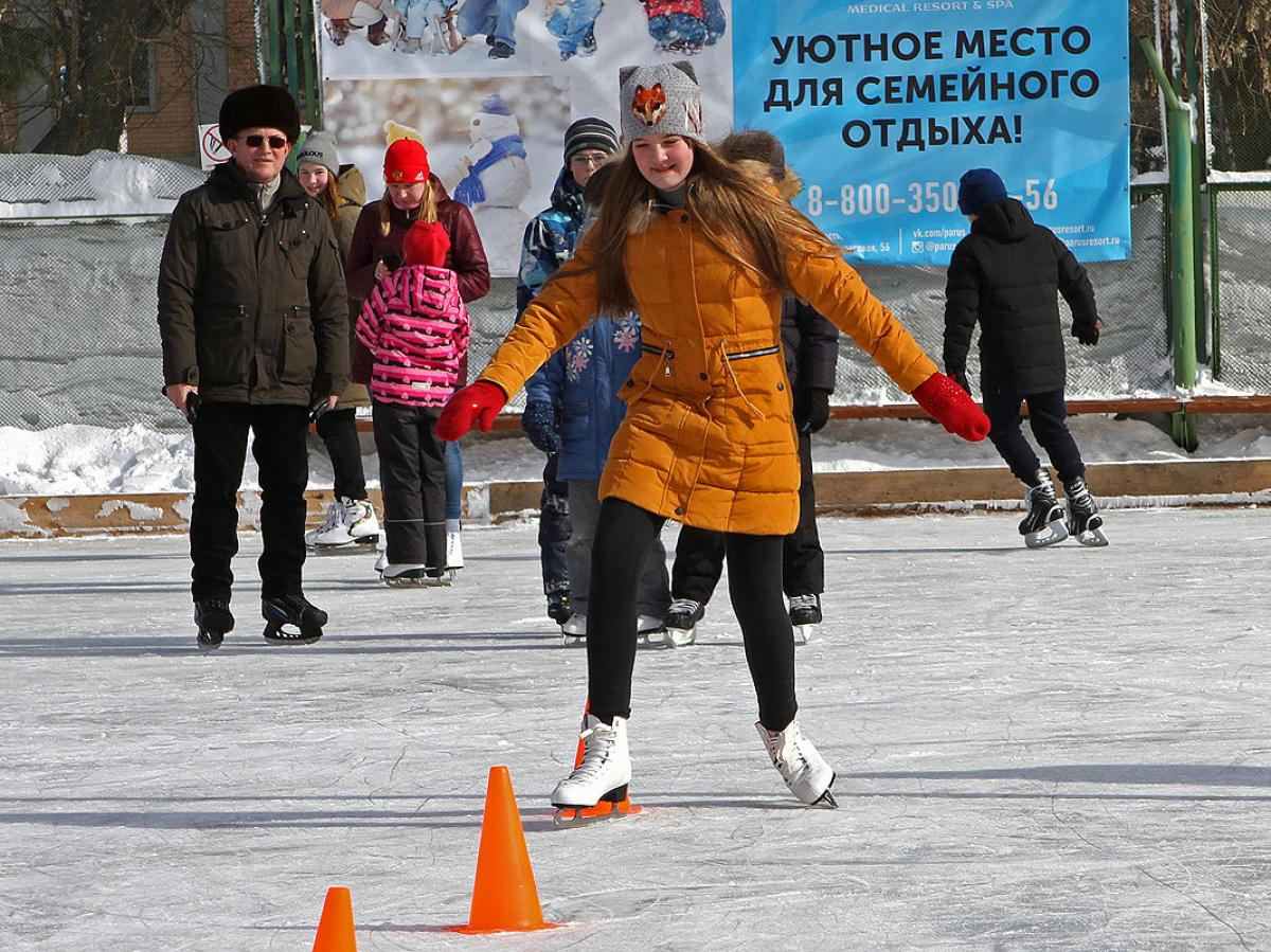 «В Сибири – марток, все – на каток!»