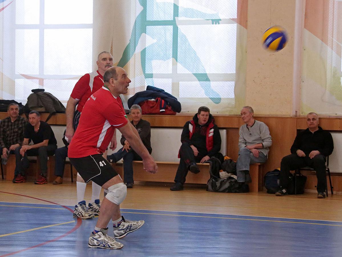 «Через спорт – к активному долголетию»: волейбол