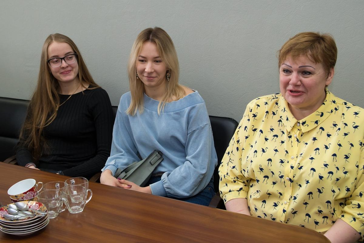 Встреча начальника УФКиС с победителями чемпионата НСО