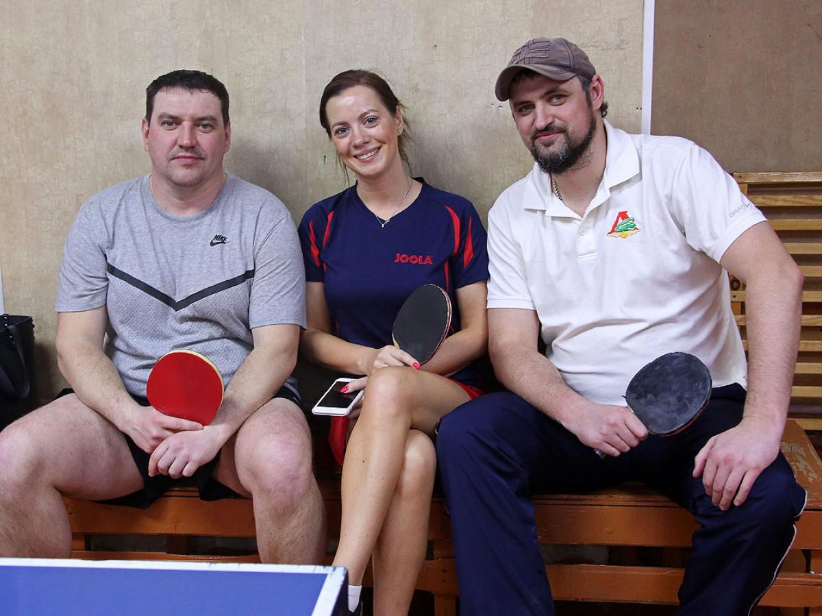 Спартакиада администраций: настольный теннис