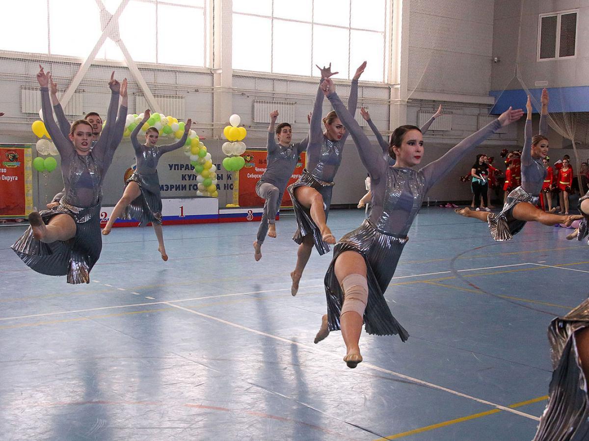 Чемпионат и первенство СФО по чир-спорту