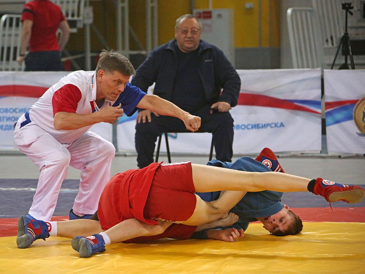 Всероссийские соревнования по самбо «Сибирский богатырь»