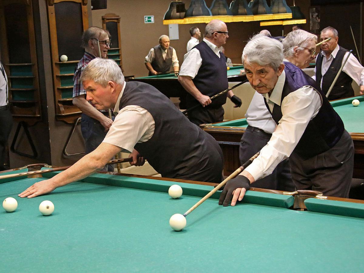 «Через спорт – к активному долголетию»: бильярд