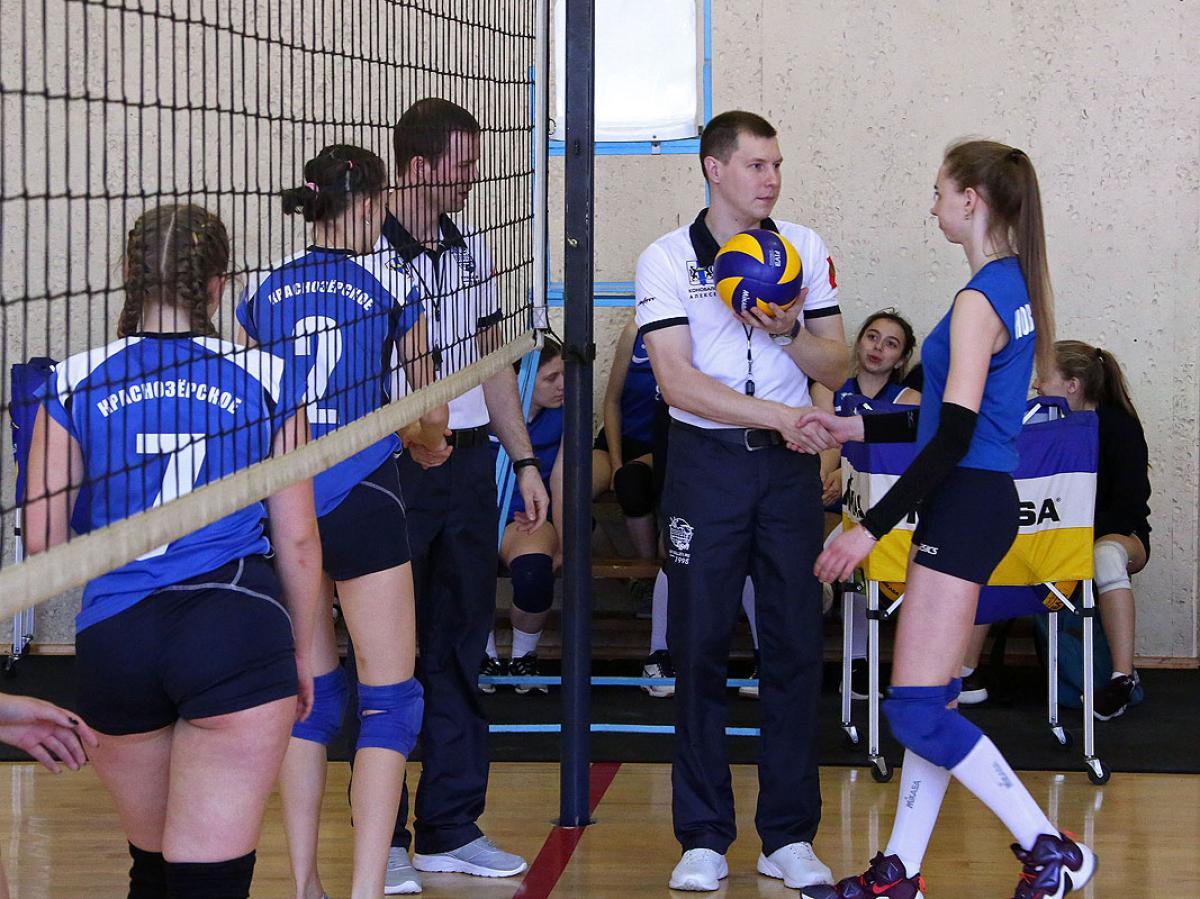 Первенство НСО по волейболу среди девушек 2003-2004 г.р.