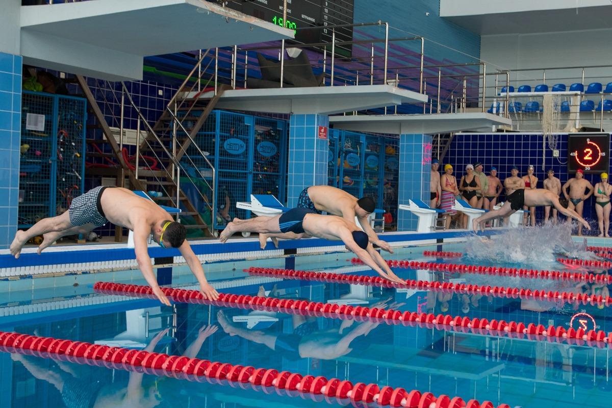 Спартакиада администраций: плавание