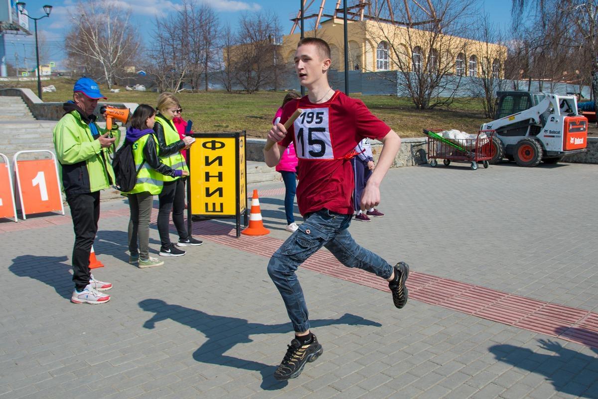 Эстафета Октябрьского района