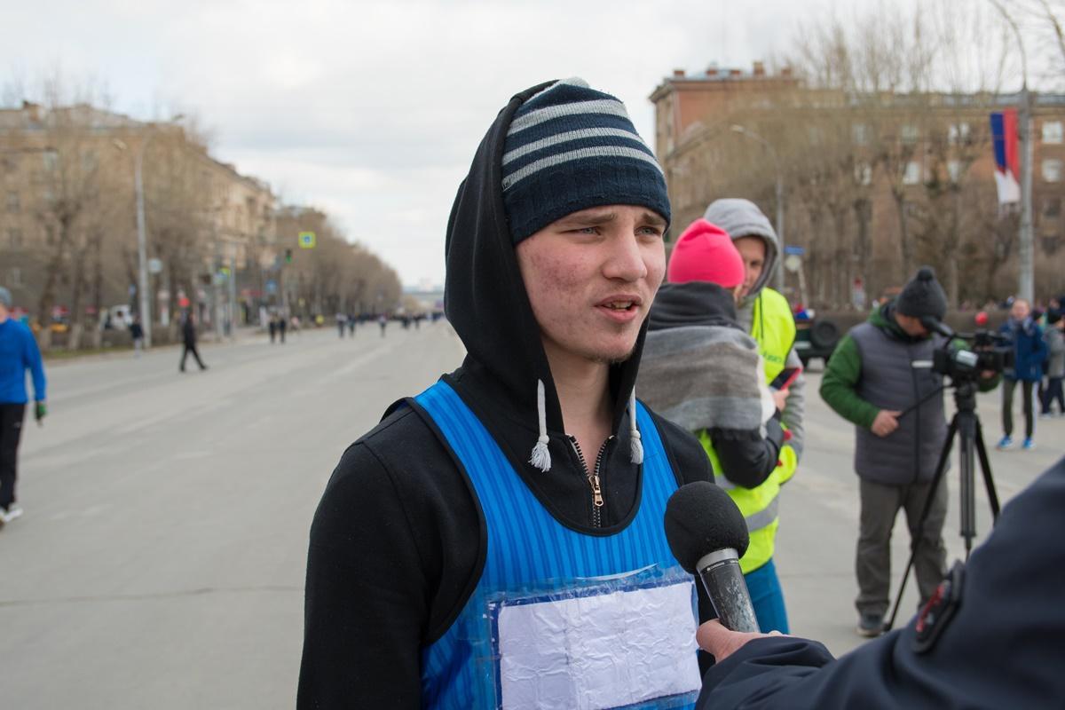 Эстафета Ленинского района