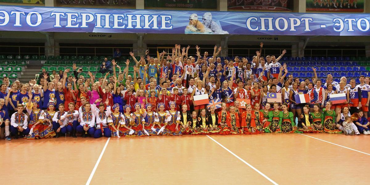 III международный турнир «Кубок наций» по смешанному волейболу