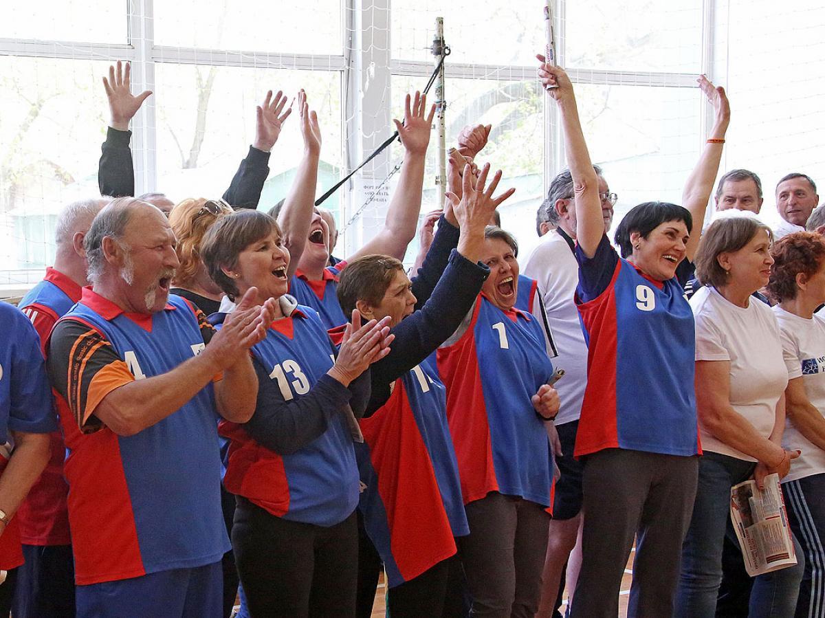 «Через спорт – к активному долголетию»: игровое многоборье