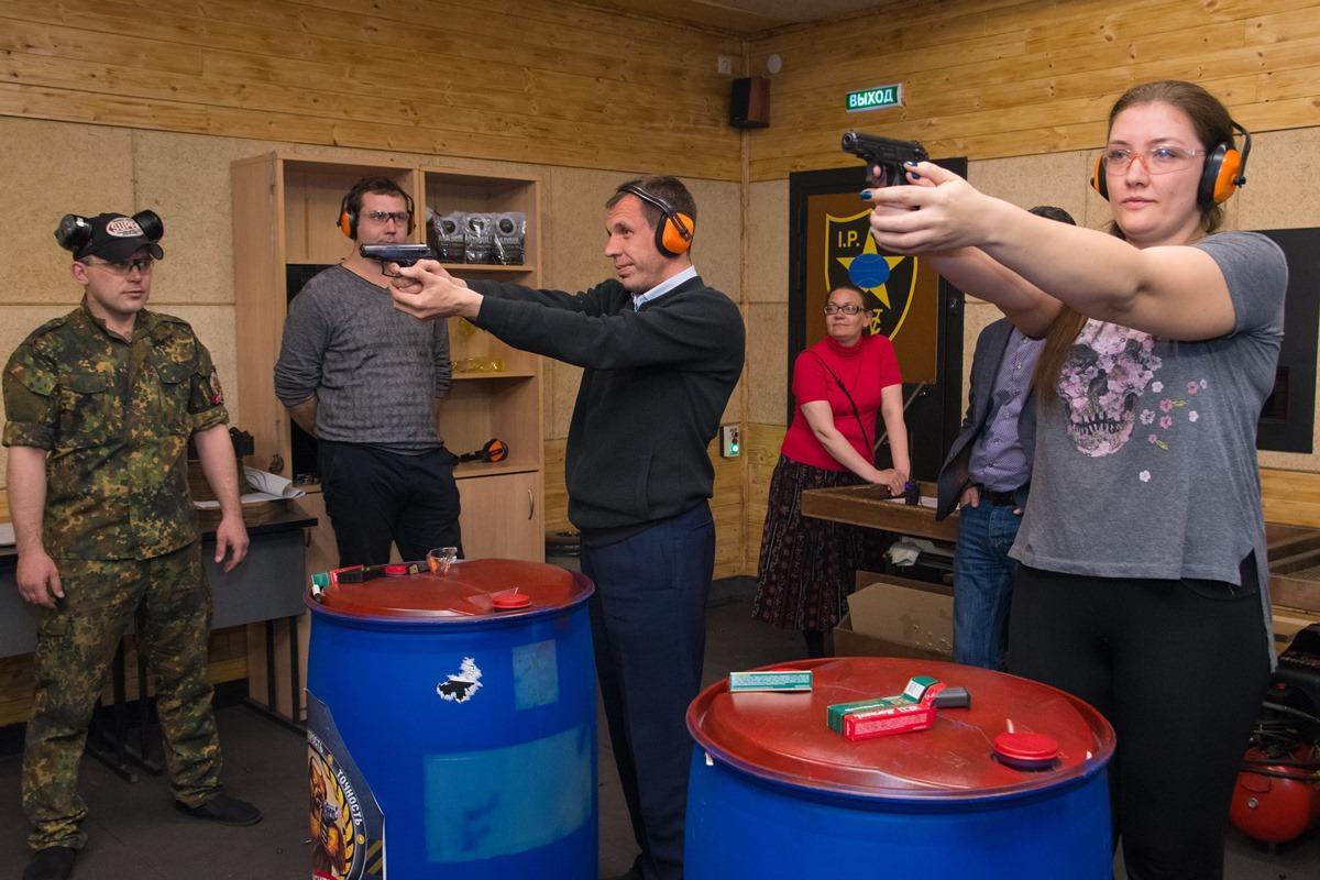 Спартакиада администраций: стрельба
