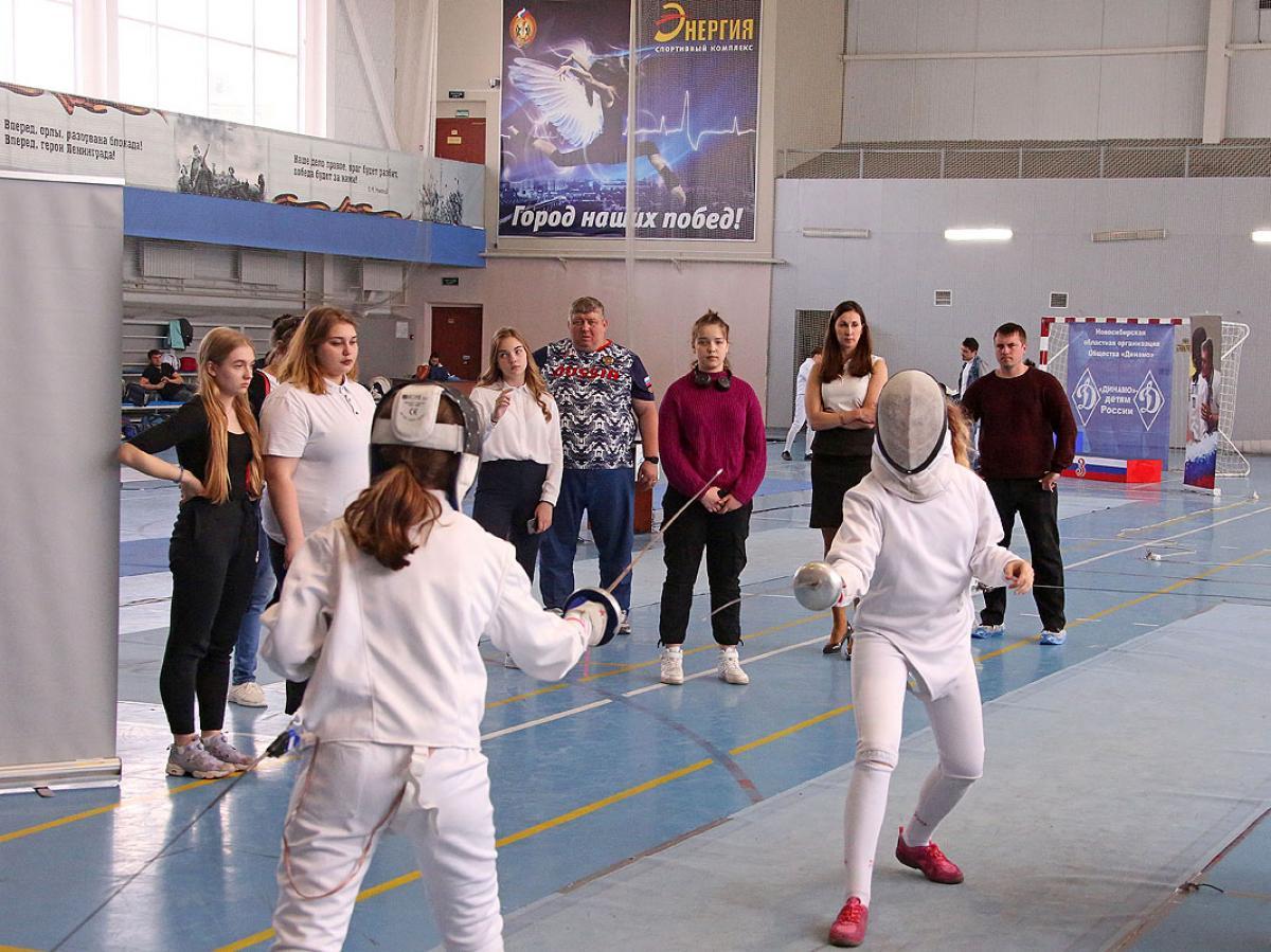 Сибирский турнир по фехтованию на призы Любови Шутовой