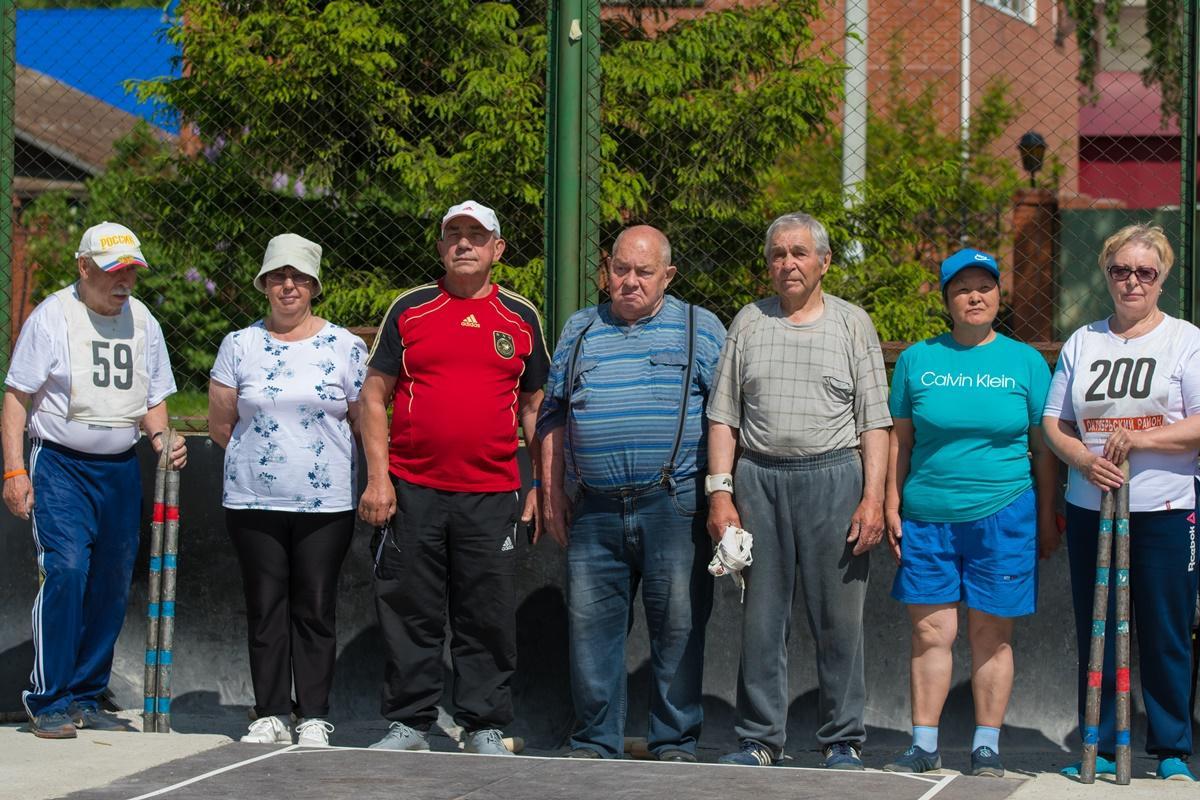 «Через спорт – к активному долголетию»: городки
