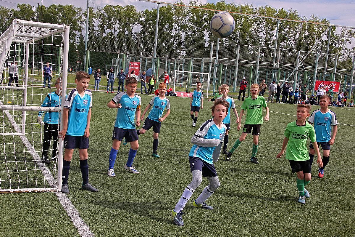 «Кожаный мяч»: финальные игры городского этапа