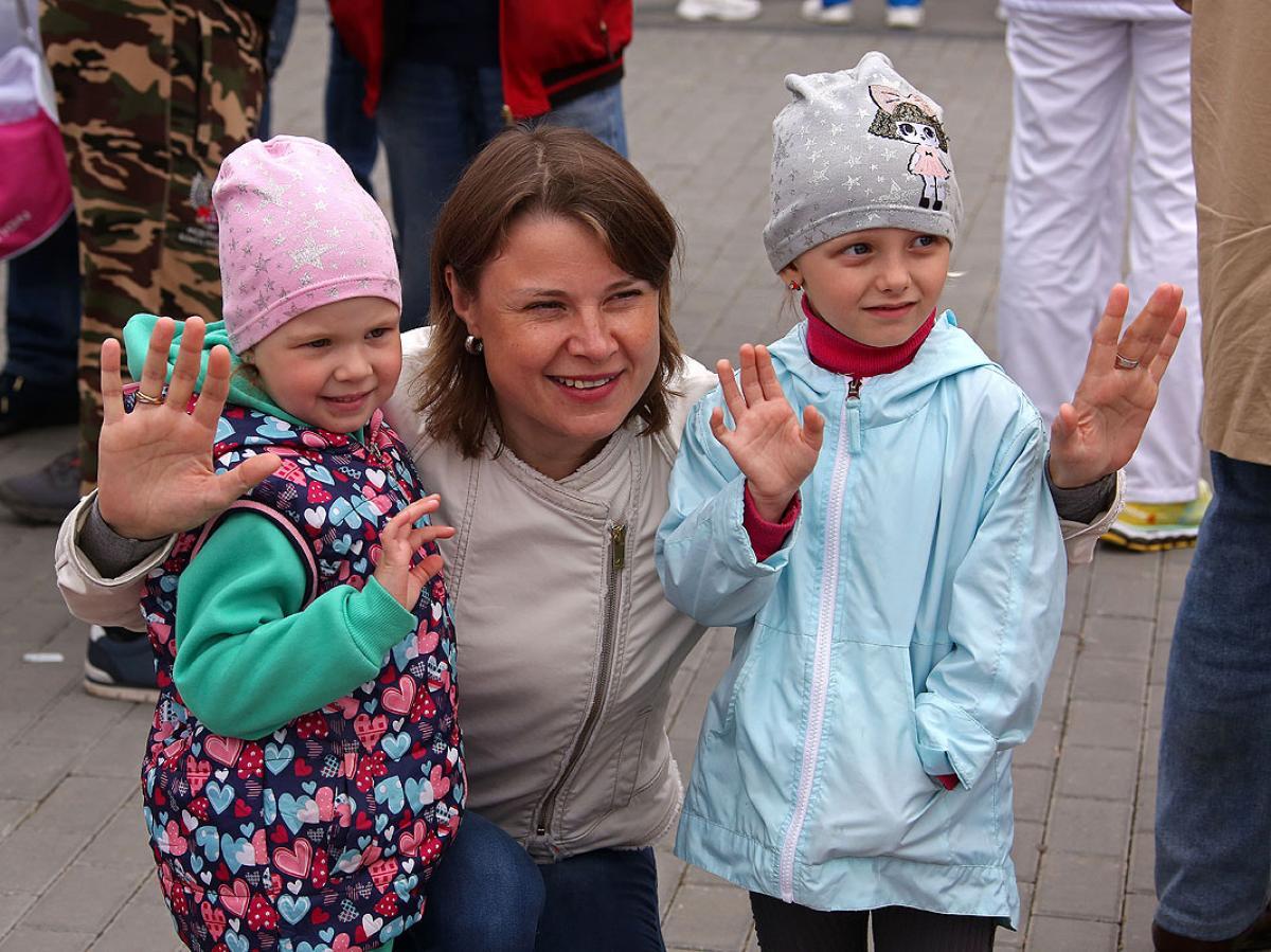 Всероссийский Олимпийский день в Новосибирске