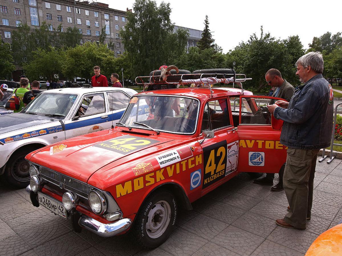 Новосибирский этап 7-го ралли «Пекин-Париж»