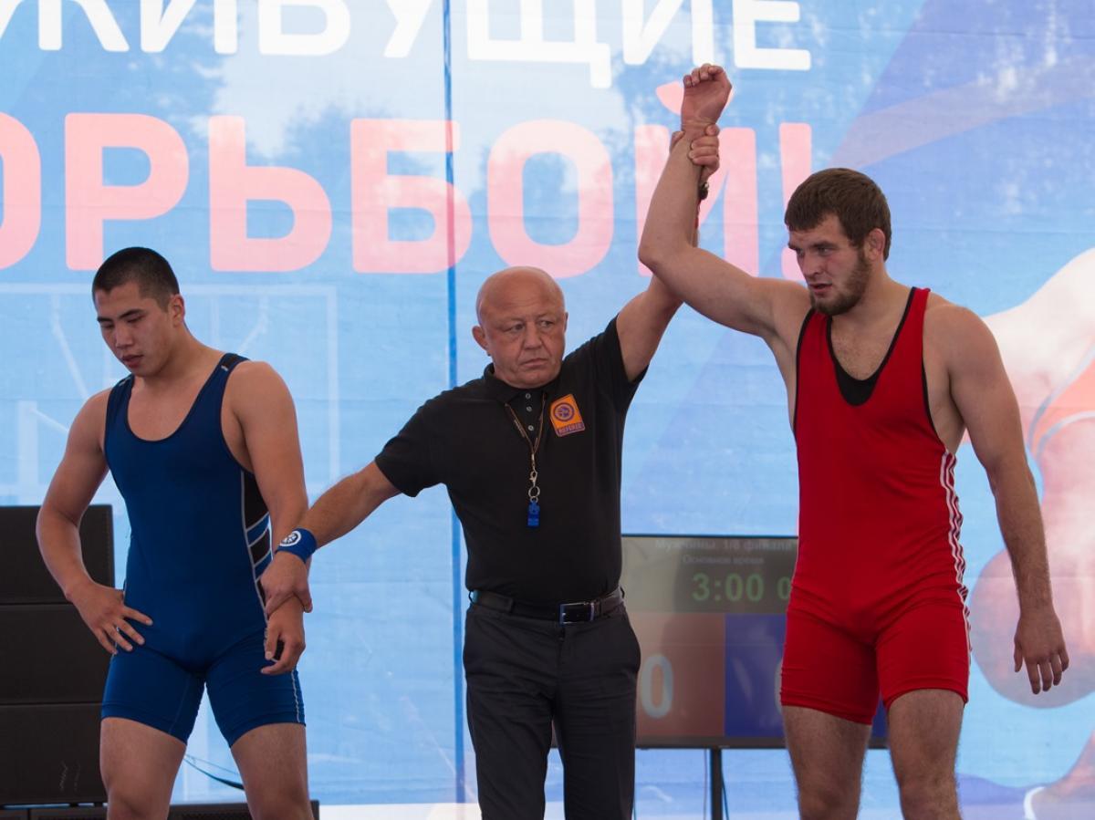Турнир по греко-римской борьбе памяти Александра Нестеренко