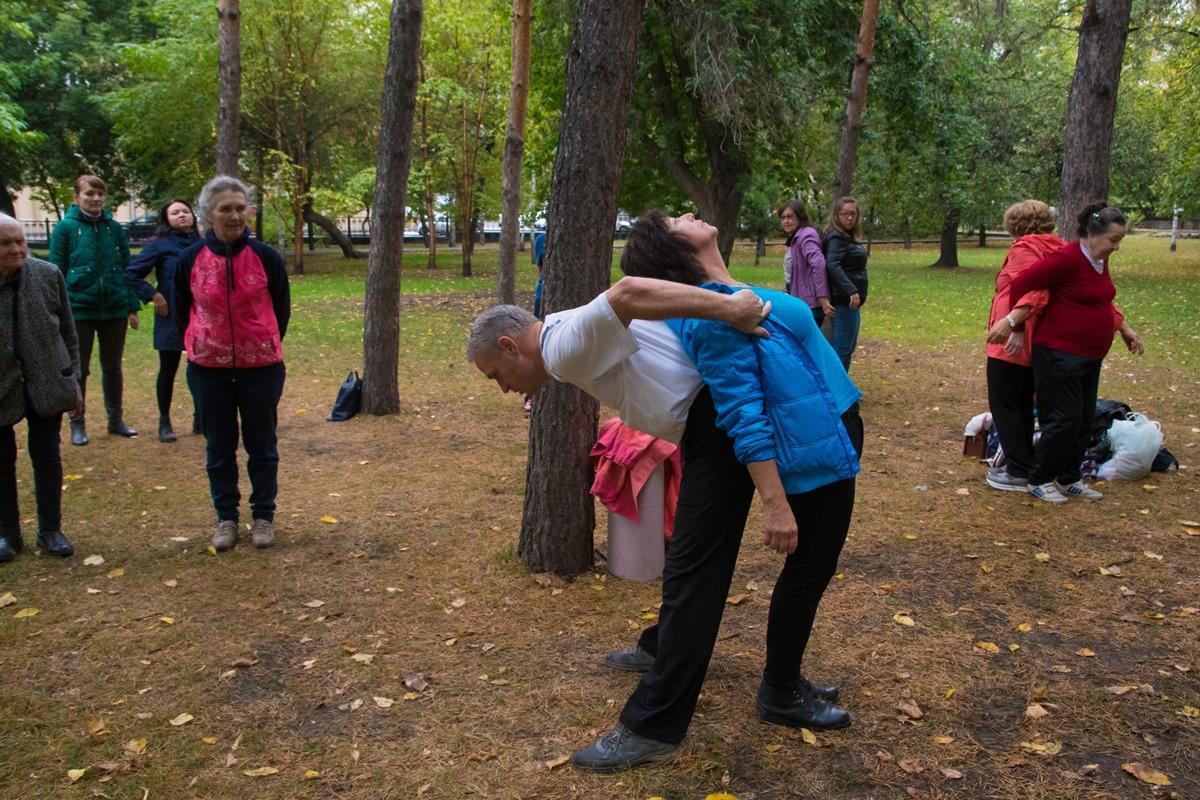 Закрытие сезона парковой гимнастики