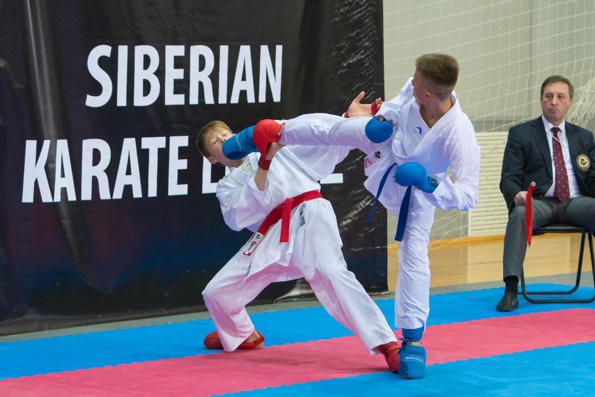 Всероссийские соревнования по каратэ
