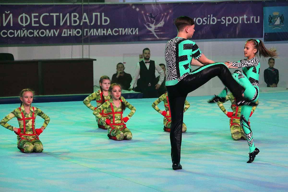 Фестиваль гимнастики