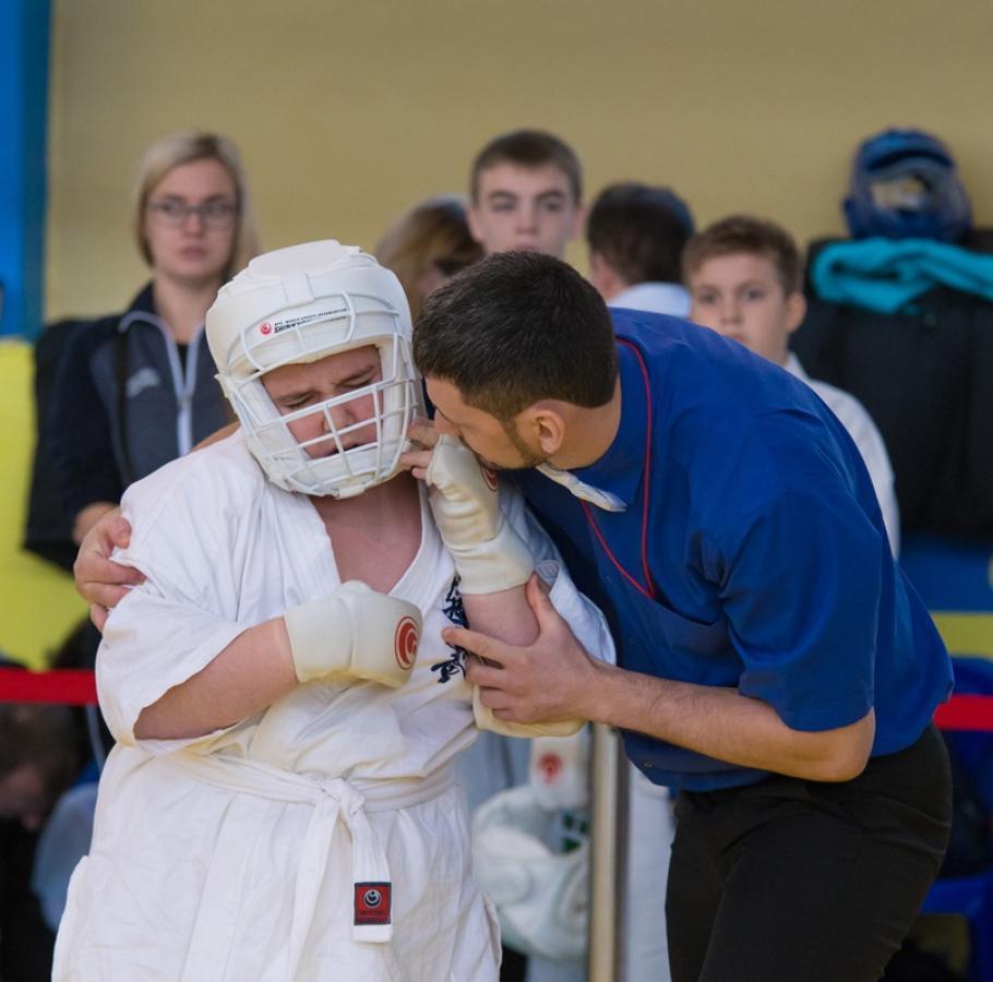 Чемпионат и первенство города Новосибирска по киокусинкай.