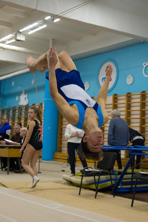 Первенство города Новосибирска по прыжкам на батуте