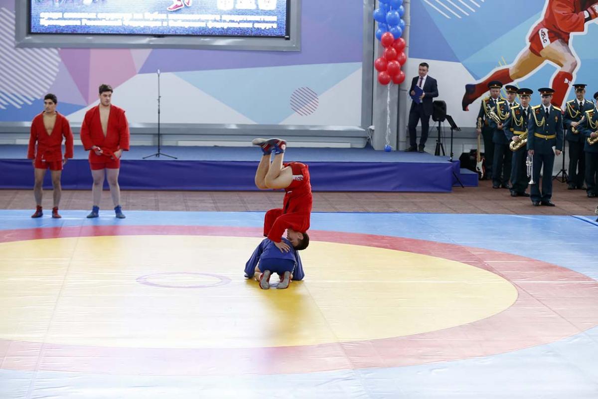 Региональный турнир по самбо среди силовых структур «Защитник отечества»