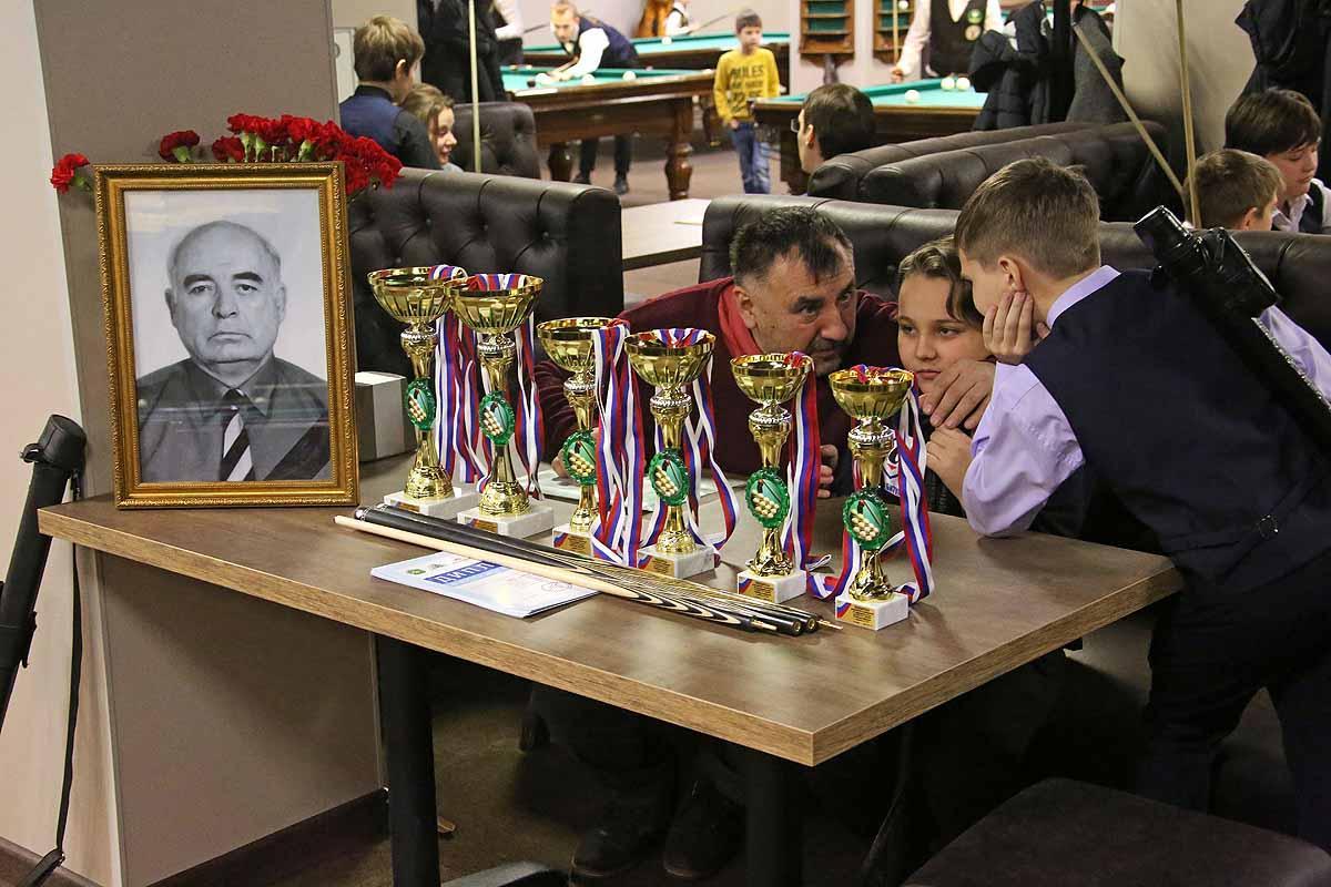 Всероссийские соревнования по бильярдному спорту на кубок Козаева В.Г.