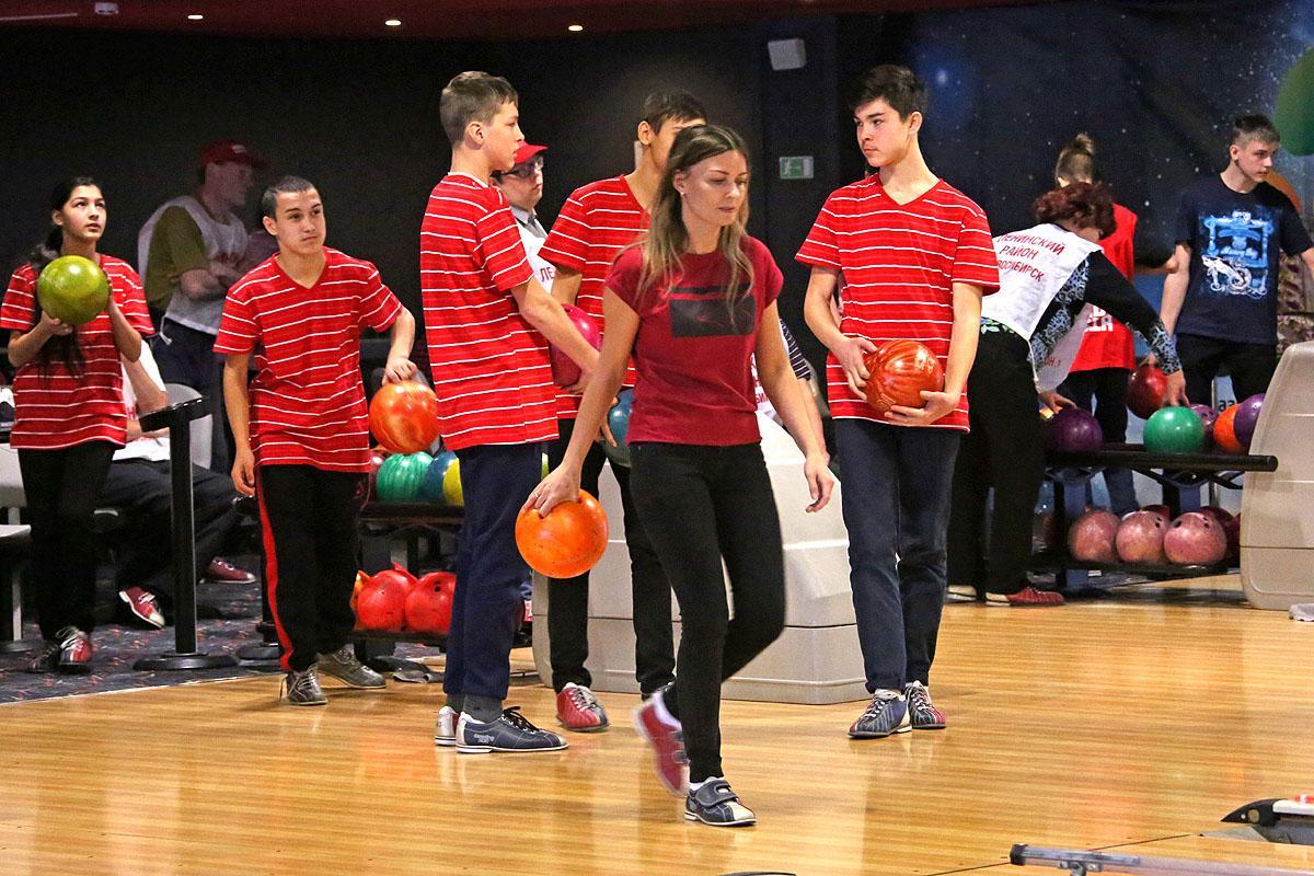 Фестиваль по боулингу «Веселый Страйк» для особенных спортсменов