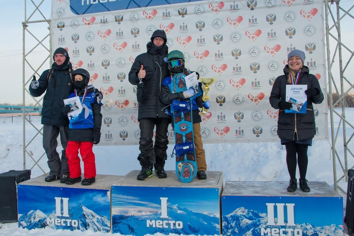 Всероссийские соревнования по сноуборду памяти Полины Петроченко