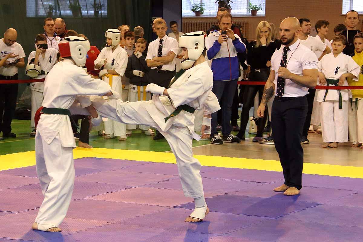 XXIII «Новогодний турнир» по Киокусинкай