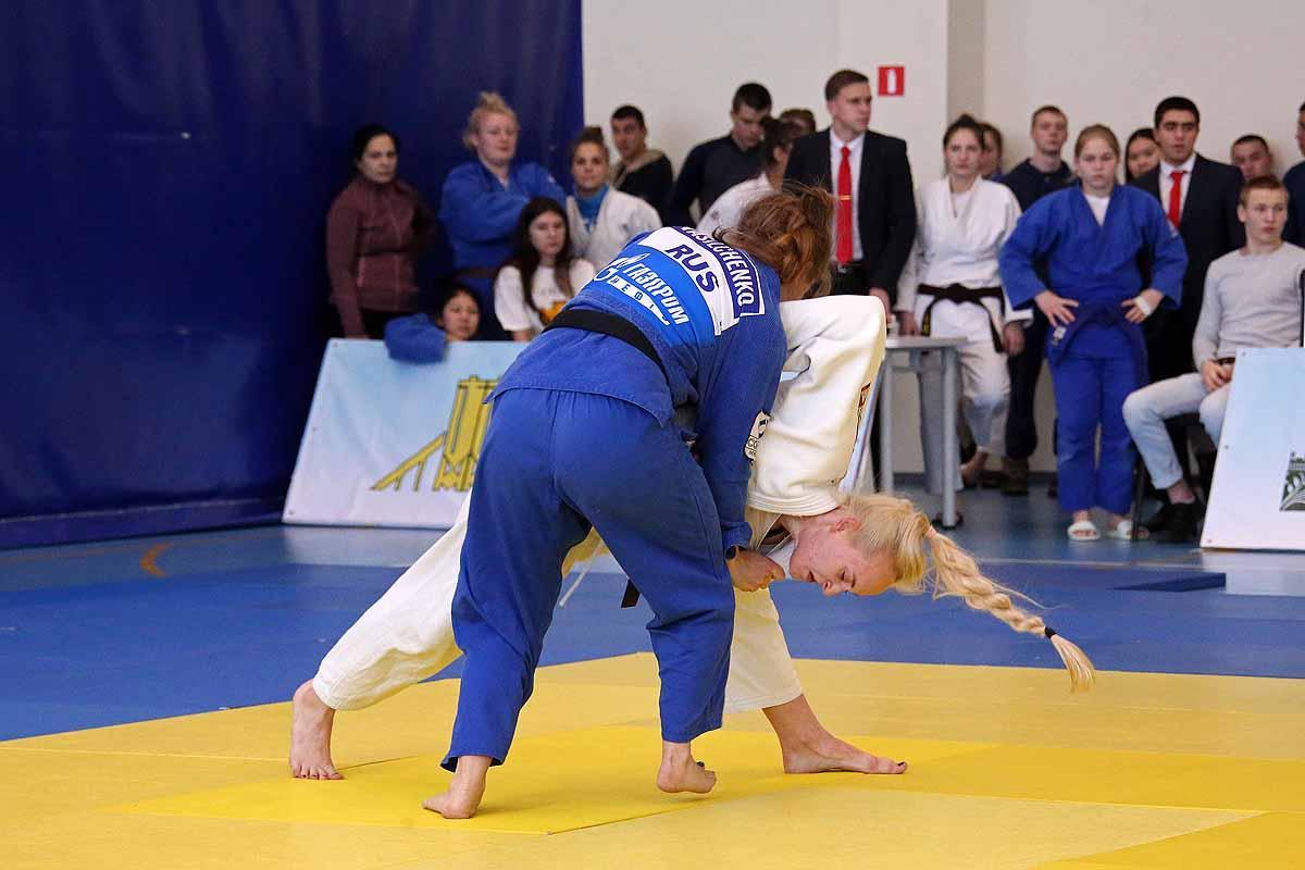 Всероссийские соревнования по дзюдо «Дружба народов».