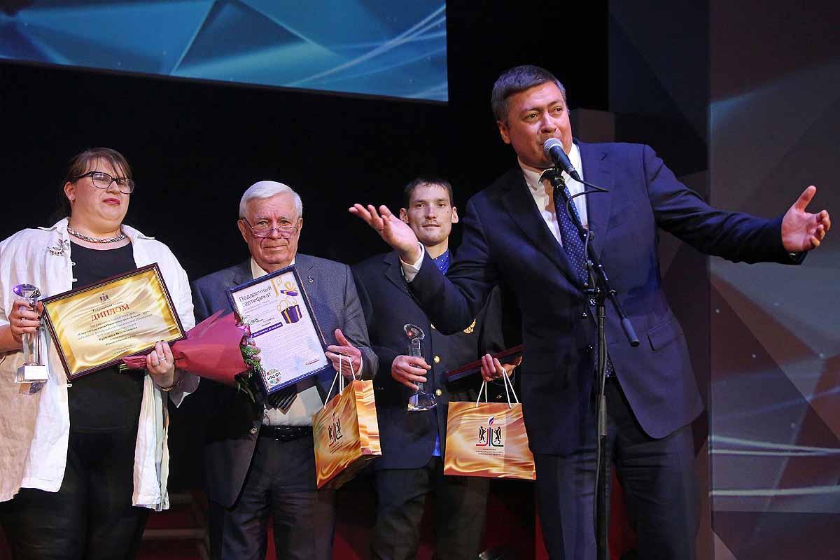 Торжественная церемония вручения наград ежегодного конкурса «Спортивная элита – 2019»