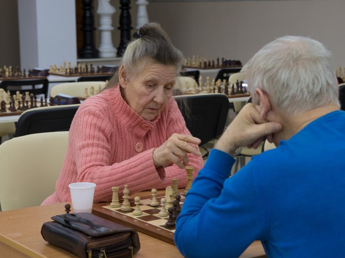 Первенство Новосибирска по быстрым шахматам  среди ветеранов