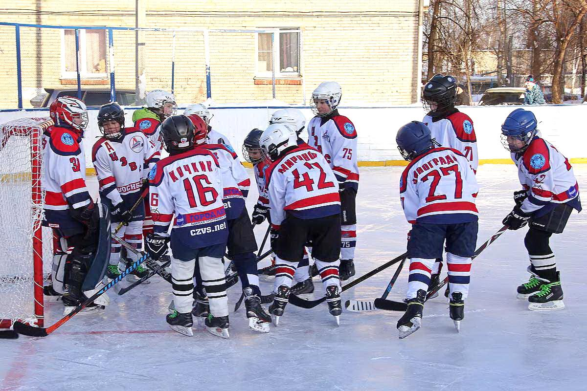 Отборочные игры в рамках городского этапа Всероссийского турнира юных хоккеистов «Золотая шайба» имени Анатолия Тарасова